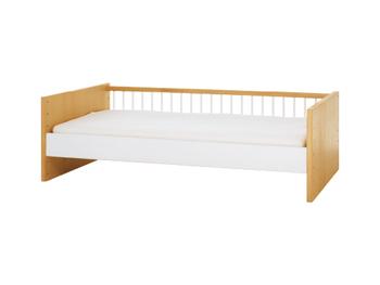 中でも「single bed(シングルベッド)」は、末永くベッドとして使用するのはもちろん、ゆくゆくは「ソファ」に転用させることもできるんです。