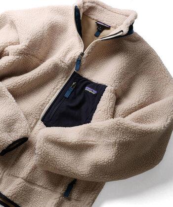 毎年大人気の「レトロX」シリーズ。アウトドアブランドだけあって防寒性は抜群。パンツにもスカートにも合わせやすいほどよいボリューム感です。すぐ品切れになるのでほしい方はお早めに!  ※画像は2018年のもので、2019年とは配色が異なります。詳しくは公式オンラインショップをご覧ください。