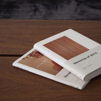 手ざわりのある写真には温かみがあるもの。撮りたい写真がたまってきたらフォトブックを作ってみましょう。スマホで簡単に注文することができます。