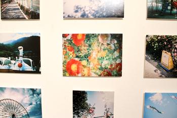 とっておきの写真が撮れたときは、思い切ってパネルにしてお部屋に飾るのも素敵。まるで写真展のギャラリーのようです。