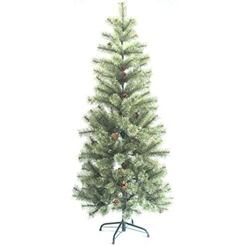 愛しクリスマスツリースリムヌードツリークリスマス松ぼっくり付き120センチメートル150センチメートル北欧おしゃれクリスマスツリークラシックタイプ高級ドイツトウヒツリー