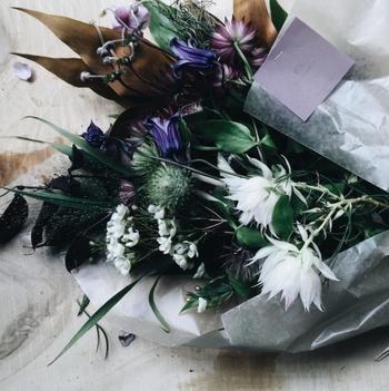 オシャレな花束を贈りたいなら、ここに頼めば間違いなし!ナチュラル派さんはもちろん、男性にも喜んでもらえる花束を作ってくれます。
