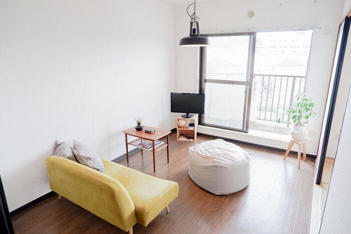 家賃は毎月かかる固定費。小さな部屋ほど、家賃も安くなる傾向があります。お部屋探しのときは広い部屋に惹かれがちですが、そのサイズは本当に必要か考えてみましょう。
