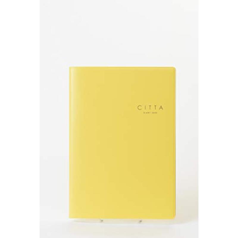 CITTA手帳2020年 10月始まりミモザイエロー