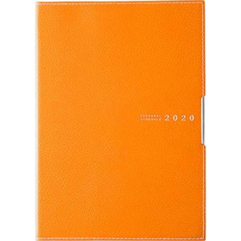 高橋 手帳 2020年 A5 マンスリー ディアクレール ラプロ 2 オレンジ
