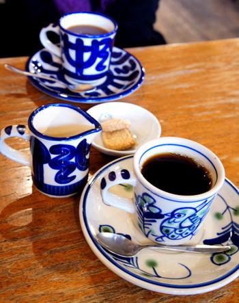 コーヒーは種類が豊富でジャーマンブレンドやフレンチブレンドなど、その日の気分や味の好みでセレクトできるのが嬉しいですよね。
