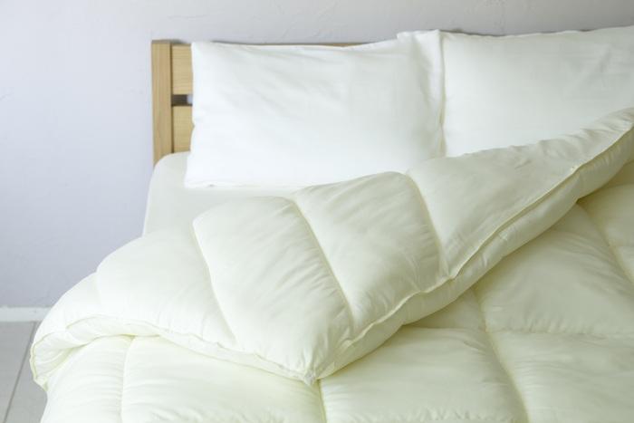 """寝具を替えれば生活が変わる。羽毛だけじゃない""""本当に""""心地よい布団"""