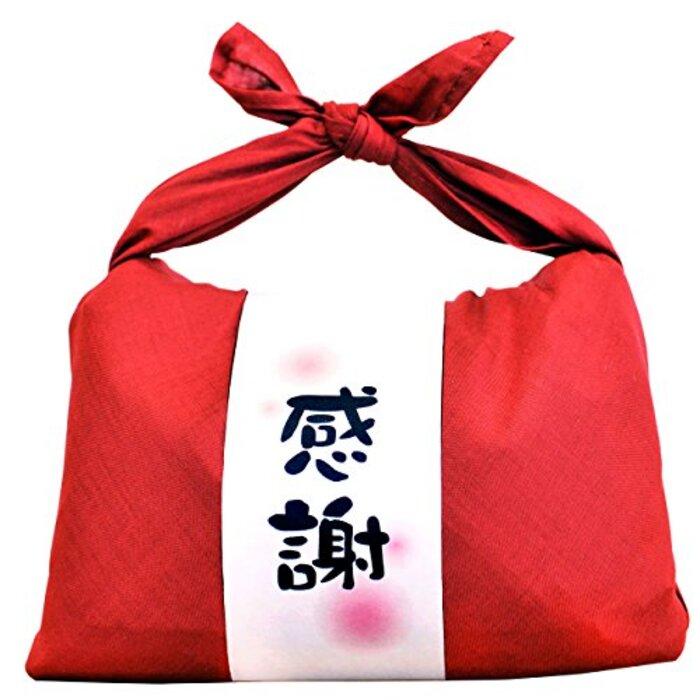 新米 お米ギフト バンダナ包み (感謝×赤) 新潟県産 魚沼産コシヒカリ 白米 600g(300g×2袋入)令和元年産