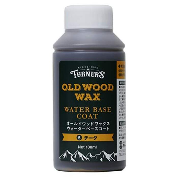 ターナー色彩 着色剤 オールドウッドワックス ウォーターベースコート 100ml #5 チーク
