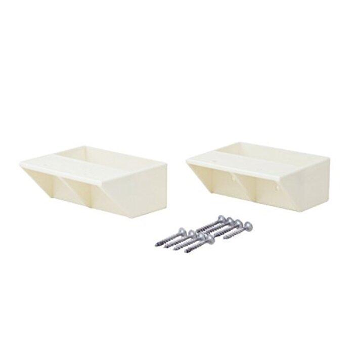 平安伸銅工業 LABRICO DIY収納パーツ 2×4棚受シングル