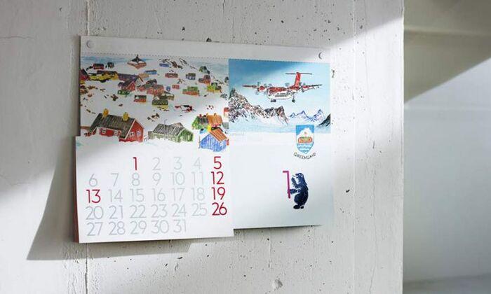 「D-BROS」のWorld Travelerカレンダーは、その名の通り、世界の風景を楽しめます。国によってはカラフルな色使いや繊細なタッチのイラストなど、どれもアーティスティックな表情を見せてくれます。