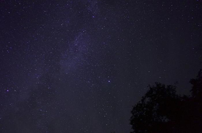 森の中を進んでいき、ふかふかの雪の上に寝転がると見えるのは無数の星が輝く夜空。冬の星座や、運が良ければ見られる流れ星で大自然を満喫してはいかがでしょうか。