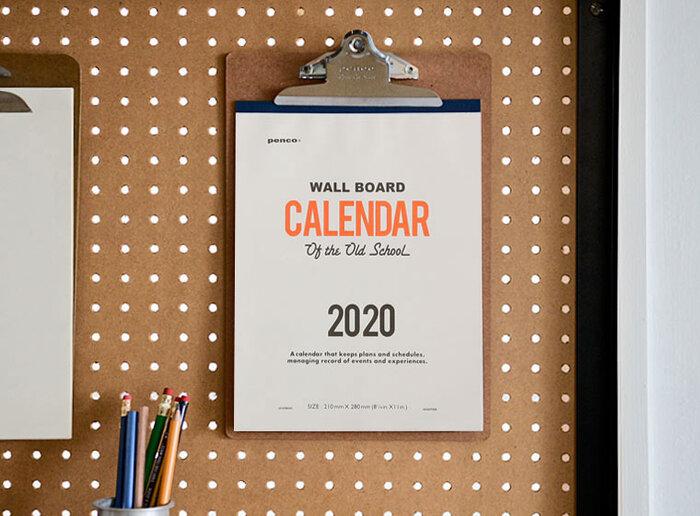 置き型or壁掛け?お気に入りを見つけたい!タイプ別【2020年カレンダー】