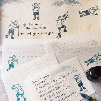 登山好きの筆者が「コレほしい!」と思ったのはこちらの一品!共通の趣味仲間に送るメッセージなら、それに沿ったモチーフのものを選ぶとより楽しくやりとりができますよね。