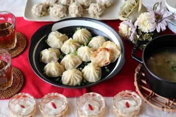 おいしい点心と中国茶で!おうちで「飲茶パーティー」を楽しもう♪