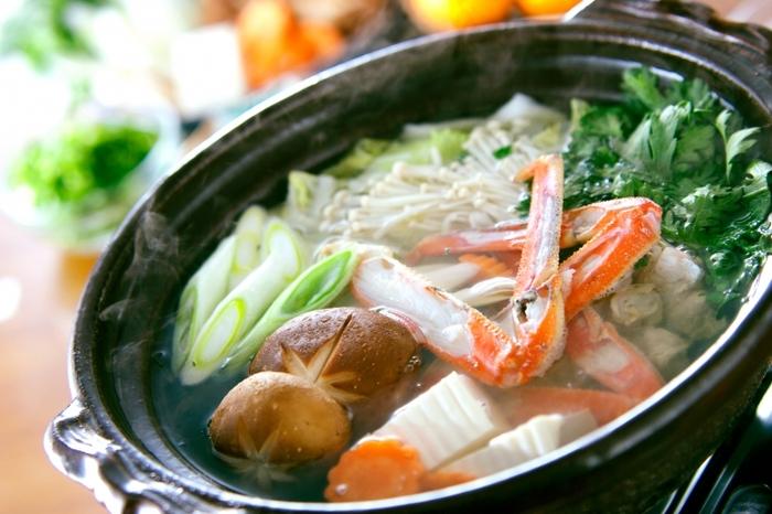 茹でるだけでなく、焼きガニ、しゃぶしゃぶ、カニ鍋など・・・ぜひ身から殻まで余す事なく、カニの美味しい旨みをご堪能くださいね。