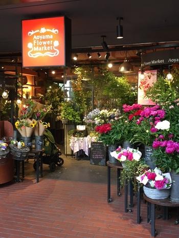 まずはじめにご紹介するボタニカルカフェは、全国展開する人気フラワーショップ「青山フラワーマーケット 」のオリジナルカフェ「Aoyama Flower Market TEA HOUSE」です。