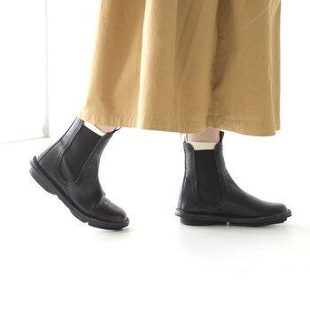 寒くなってきたら、そろそろブーツの出番ですね。ロングブーツは着脱が大変だし少し歩きにくい…そんな方には履きやすいショートブーツがオススメです。