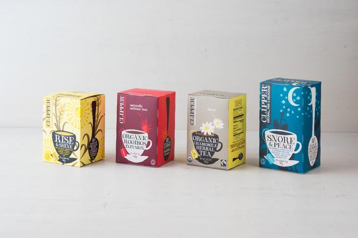 イギリス生まれの紅茶ブランド「CLIPPER(クリッパー)。地元イングランドの田舎町ドーセットにて、愛情を込めてブレンドしています。可愛らしいパッケージにも注目です。