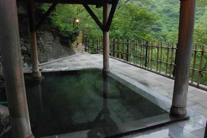 温泉はやっぱり露天風呂が人気です。たまに動物たちが姿を見せることもあるんだとか…!秘湯ならではの魅力ですね。周囲は何もないので、とっても静か。日常を忘れてのんびり過ごせます。