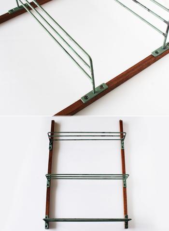 後は、ネジで棚を固定するだけでOK。あらかじめ置きたいアイテムが決まっている場合には、棚と棚の間隔にも注意してくださいね。