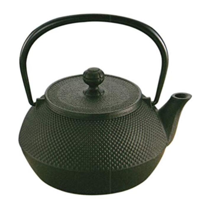 岩鋳(Iwachu) 鉄瓶 黒焼付 0.9l IH対応 11960