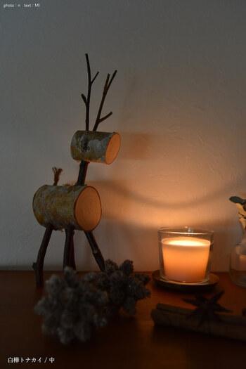 眺めているだけで心が癒されるキャンドルの灯り。寒い夜は照明を消して、キャンドルの灯りだけで過ごしてみてはいかがですか?