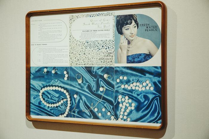 「神保真珠貿易」が海外向けに作成した約50年前のカタログ