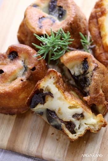 生クリームや発酵バターを使ってつくるちょっぴりリッチなテイストのファーブルトンレシピです。マフィン型にクリスタルシュガーをまぶしておくと、焼き上がりがカリッと仕上がります。