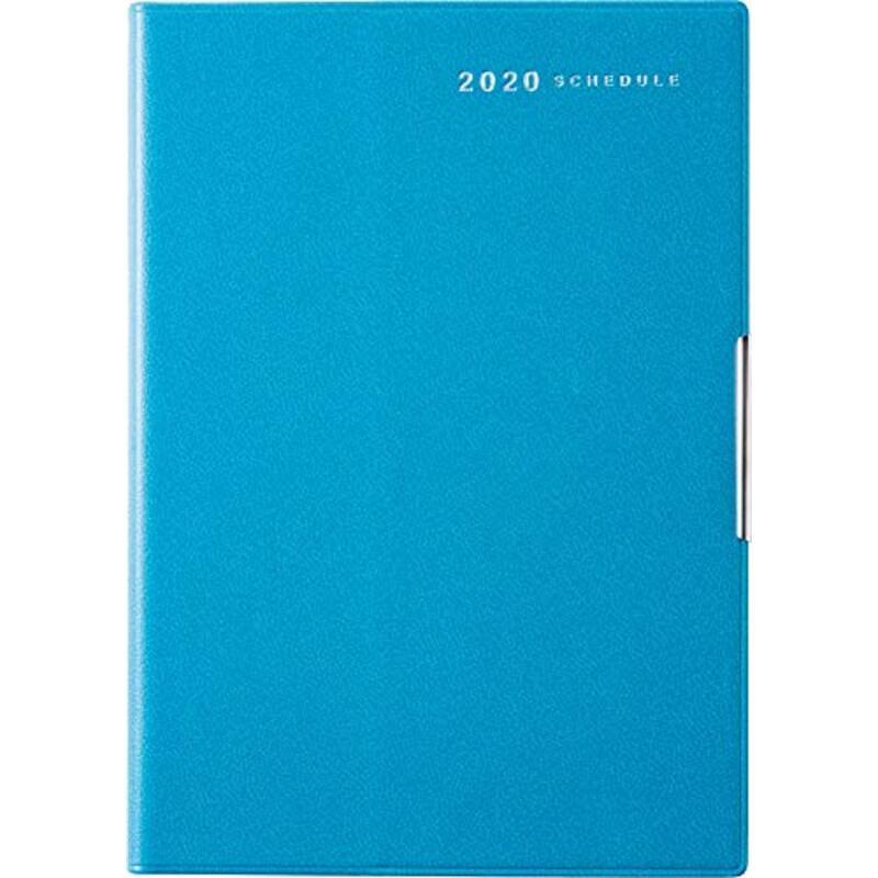 高橋 手帳 2020年 B6 ウィークリー フェルテ R 9 青 No.239 (2019年 12月始まり)