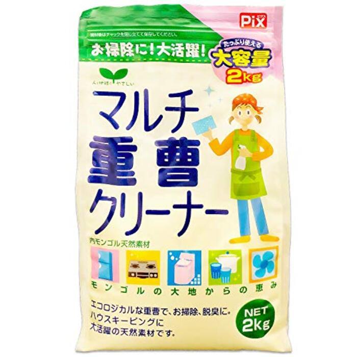 ピクス マルチ重曹クリーナー(食器 鍋 浴槽 換気扇 レンジ キッチン) 2kg