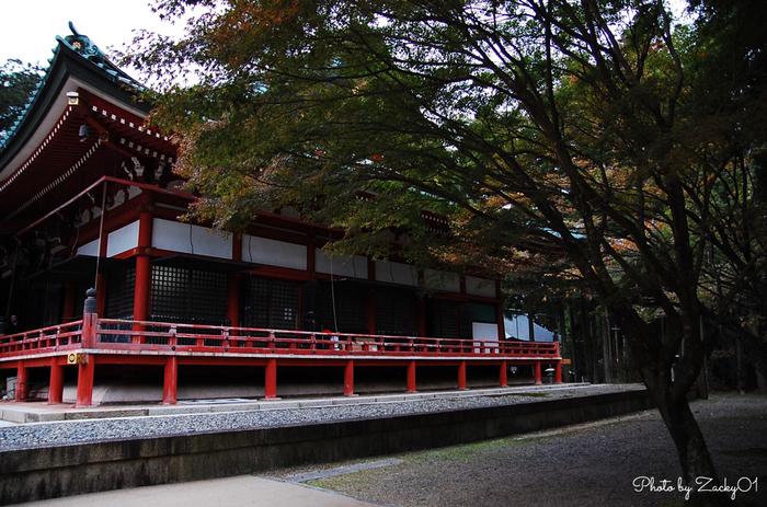 合計100程もの堂宇が点在している延暦寺は、地区ごとに見どころが分かれています。境内の東側を「東堂(とうどう)」、西側を「西塔(さいとう)」、北側を「横川(よかわ)」と呼び、それぞれに見どころがあります。