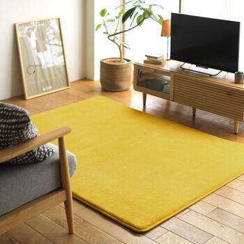 床の防音で気軽に取り入れやすいのが「防音カーペット」。通常のカーペットよりも、パイルの密度や長さがあります。