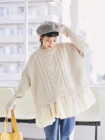 冬ファッションに欠かせない人気の「オーバーサイズアイテム」。トレンドもおさえつつも、ゆったりしていて着心地がよいので、毎日のファッションに悩む方にオススメなんです。