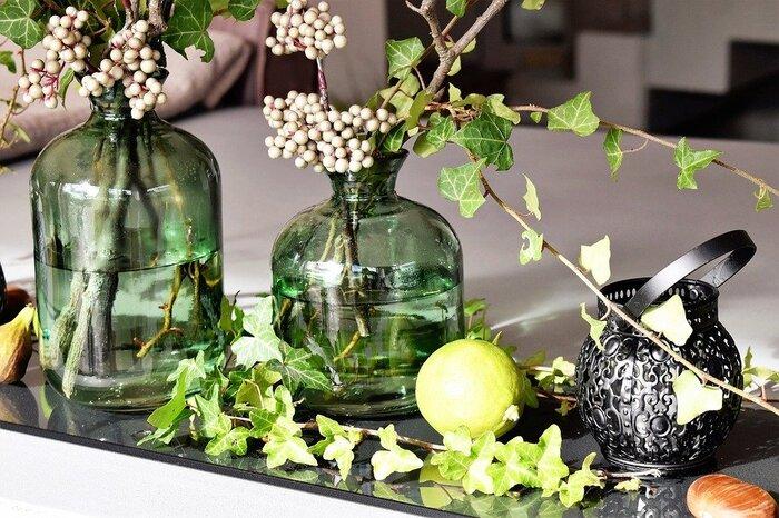 冬のテーブルにお花を添えて 気軽に楽しむアレンジフラワー
