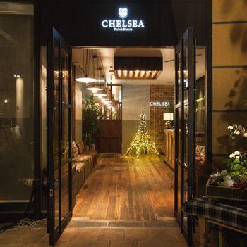 カジュアルフレンチ・チェルシー・なんばパークス店は、南海電鉄難波駅に隣接した駅ビル、なんばパークスの最上階にあるフランス料理のレストランです。