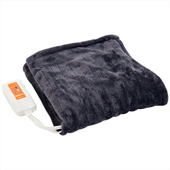 山善 ふんわりやわらか 電気ひざ掛け毛布 ミックスフランネル素材
