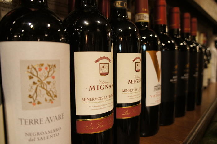 サンタ・アンジェロでは、たくさんの銘柄のワインが用意されています。美味しいイタリア料理と相性抜群のワインを飲みながら、ゆったりと過ごしてみるのもおすすめです。
