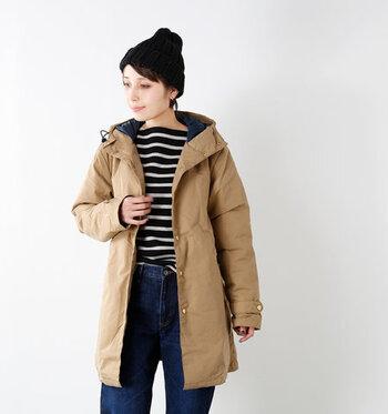 ダウンコートはウォッシャブルタイプを選べば、安心して自宅でクリーニングできて便利です。