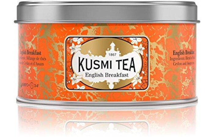 (KUSMI TEA) クスミティー イングリッシュ ブレックファスト 125g缶 [正規輸入品]