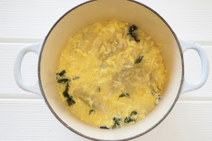 ふんわり卵でボリュームアップ♪【かきたま汁】のレシピとコツ