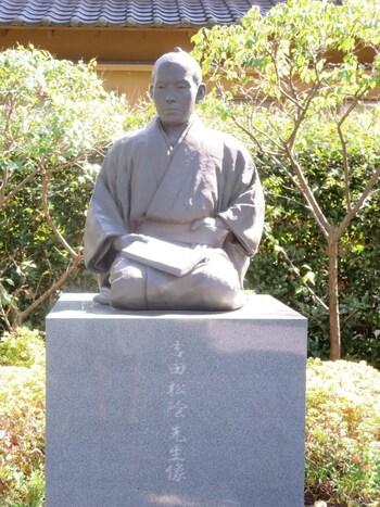 開運厄除、健康長寿など一般的な祈願はもちろん、学問に関する合格祈願などで訪れる方も多くいます。境内では吉田松陰先生の直筆を使ったお守りなども販売されています。