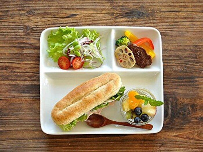 【M'home style】白い食器 チョー使いやすいM'オリジナルランチプレート
