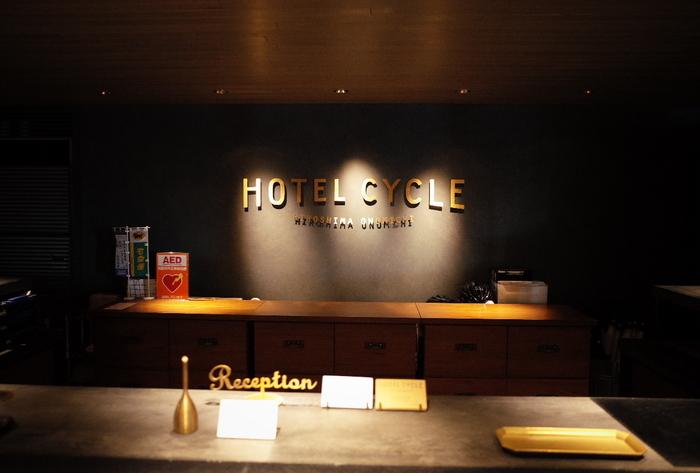 上記でご紹介した「ONOMICHI U2」にあるホテル。自転車に乗ったままチェックインできる上、全室自転車の持ち込みが可能です。自転車のメンテナンスができるスペースもあり、工具もレンタルできます。