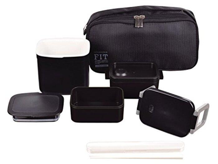 パール金属 保温 弁当箱 450ml 茶碗 約 1.8 杯分 ほかほかフィット スリム ランチ HB-251
