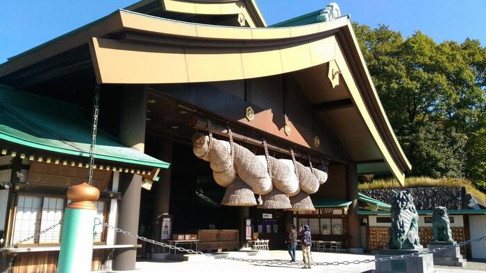 「常陸国 出雲大社」は、その名の通り「出雲大社(島根県)」から分霊し、当地に平成4(1992)年に竣功した大国主大神を主祭神とする神社です。