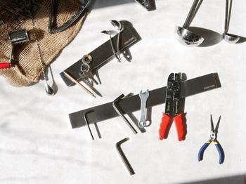工具ホルダーとして、DIY女子にもおすすめ!※長さ:45㎝と25㎝の2種。