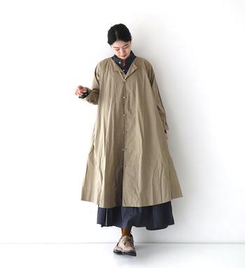 ワンピースにも羽織にも使えて、カジュアルからキレイめまで幅広いコーディネートが楽しめる「ロングシャツ」。 着回し力抜群のロングシャツは、1枚あると便利なアイテムです。