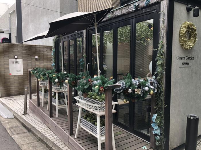 骨董通りから1本路地に入った「Ginger Garden AOYAMA(ジンジャーガーデンアオヤマ)」は、生姜を使ったお料理や高級食材を使った創作料理が楽しめるお店。メディアにもたびたび登場する人気のレストランです。