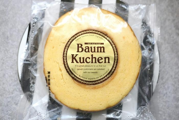 シンプルな「プレミアムバウム」は、しっとりとした上質な生地にお砂糖のアイシングがかかっています。バターの香りも楽しめる贅沢な味わいが人気です。